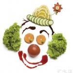 蔬菜DIY的小丑头像