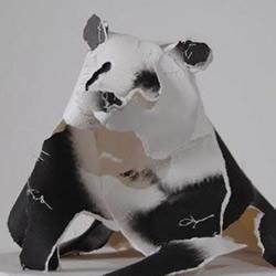 动物纸雕作品