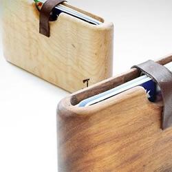 DIY手工制作的木制钱包