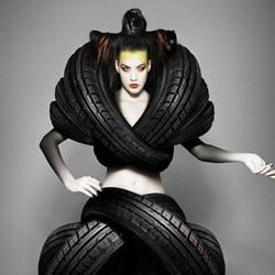 时尚轮胎秀