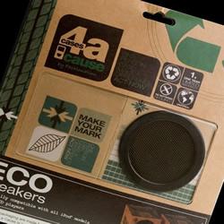 Joanna Kuczek制作的环保纸板音箱