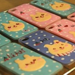 DIY个性软陶iphone外壳