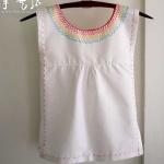 幼儿绣花连衣裙制作方法