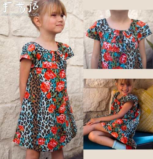 自制儿童服装图