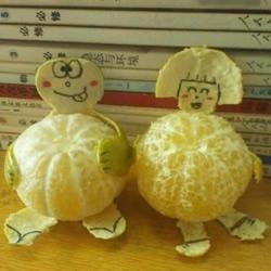 橘子DIY有趣的玩偶