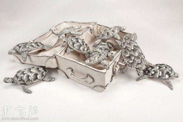 英国艺术家Katharine Morling梦幻陶艺作品 -  www.shouyihuo.com