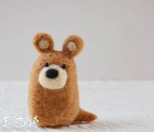diy创意毛毡小动物(2)