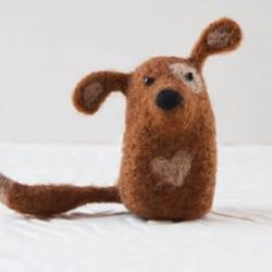 DIY创意毛毡小动物