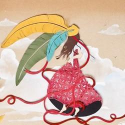 自由插画家Sarah Dennis 纸雕作品欣赏