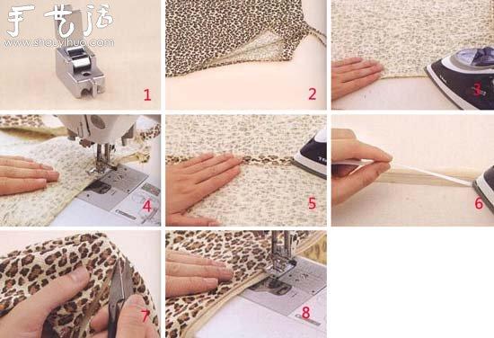4)开口两侧对齐叠放,用珠针固定后疏缝在一起。 5)烫开疏缝后的缝份。 6)在隐形拉链两侧布边各贴一条双面胶带。(可以不用双面胶带,改为假缝固定拉链) 7)撕掉胶带表面的贴纸,然后对齐拉链口粘贴在两侧缝份上。 8)拆掉疏缝线,用安装了隐形拉链压脚的缝纫机把拉链两侧布边缝在衣服上。