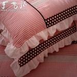 手工制作荷叶边枕套的方法