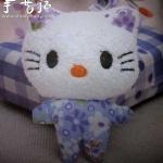布艺猫咪DIY 手工布艺猫咪玩偶