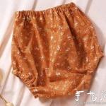 DIY短裤:侧缝式宝宝短裤缝制方法