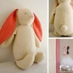 布艺兔子手工制作