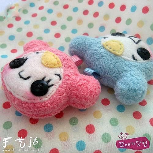 可爱的韩流布艺玩偶/毛绒玩具作品欣赏 -  www.shouyihuo.com
