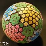 日本一位92岁老奶奶手工制作的漂亮手鞠
