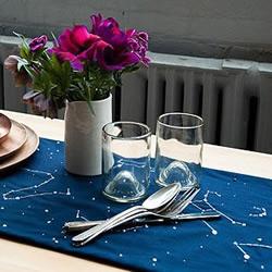 刺绣DIY星空桌垫/桌布的教程