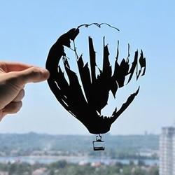 极富有爱与创造力的剪纸作品欣赏