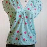V领罩衫手工制作 DIY罩衫的方法