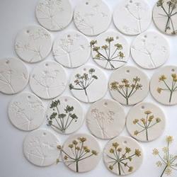 植物与陶艺结合DIY漂亮美陶