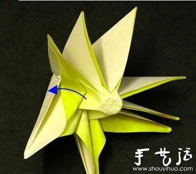 摺紙太陽花 幸運太陽花摺紙教學