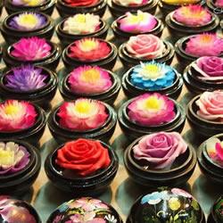 泰国传统手工艺品香皂花