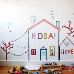 教你如何用和纸胶带DIY漂亮个性墙贴