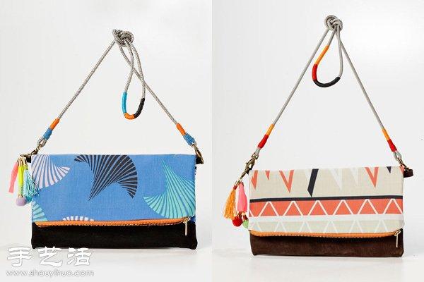 充满非洲元素的漂亮布艺包包