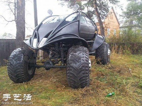 戰鬥民族出品:超霸氣巨型汽車