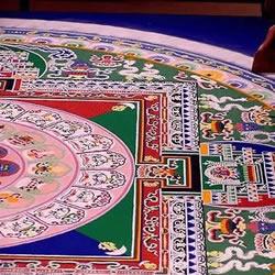 印度TamilNadu邦独特的民间艺术——米粒画