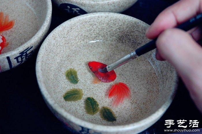 极美手绘树脂立体画 让人喜爱的手工工艺品