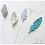 纸张/不织布+铁丝 手工制作浪漫羽毛