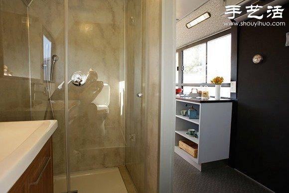 以色列女汉子DIY公交车改造变豪宅 -  www.shouyihuo.com