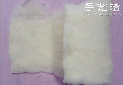 油桶+棉花+棉布 废物利用手工制作收纳筐