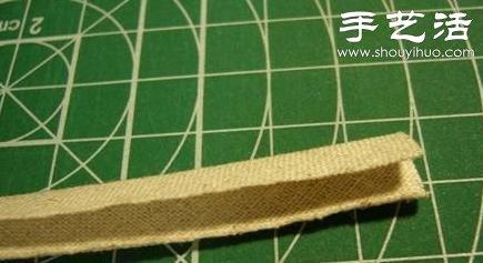 做法简单的手工小制作,准备好布条及一个八角或是七角的卡纸作为模板