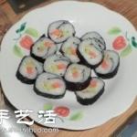 简单寿司做法,自制寿司的方法