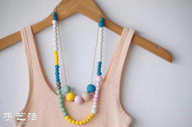 女人手工 饰品制作 首饰制作  粘土能用来捏制很多可爱小玩意,如小
