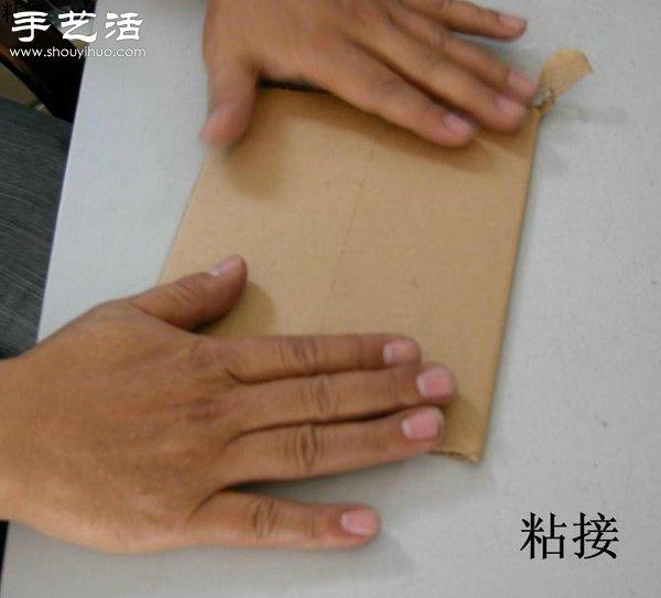 硬紙板廢物利用DIY精緻收納櫃