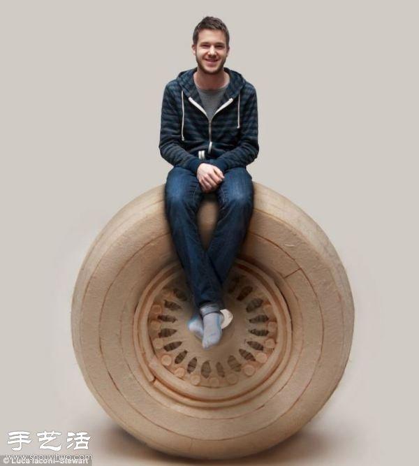 硬纸板DIY制作超精细波音777飞机模型 -  www.shouyihuo.com