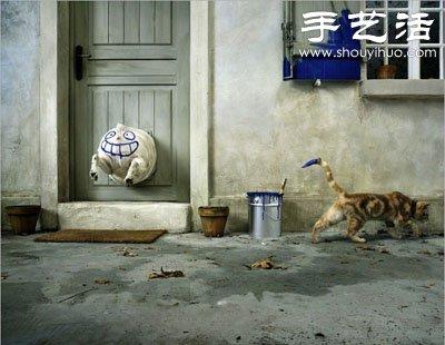 貓狗的趣味創意造型