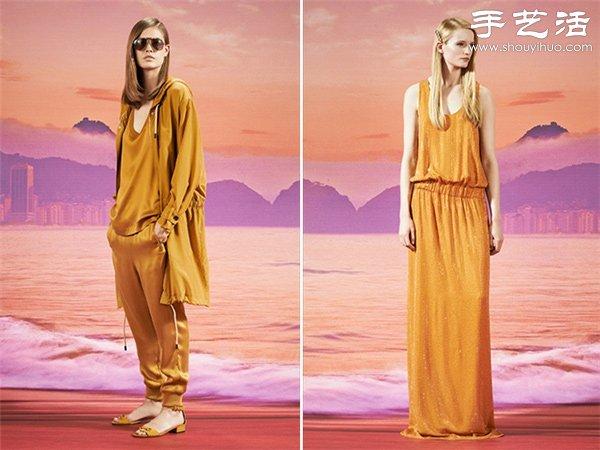 2014早春度假系列服飾設計 感受生活的慵懶愜意