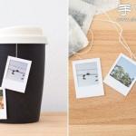 照片+纸板 手工制作漂亮茶包标签