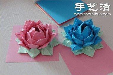 ... 折法圖解金紙蓮花的折法圖解 錫箔紙蓮花折法圖解1