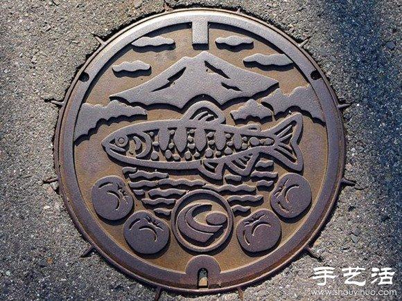 日本街头创意井盖diy设计(2)