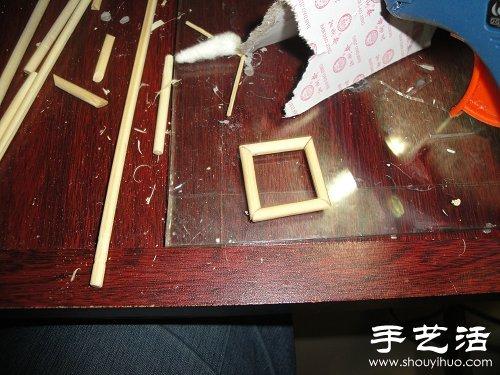 手工制作小木屋模型(2)