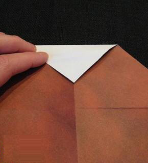 摺紙聖誕老人的方法