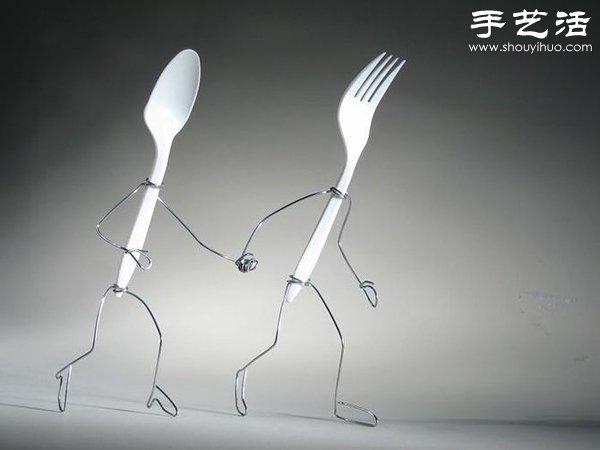 鐵絲創意DIY 製作有趣的小玩意