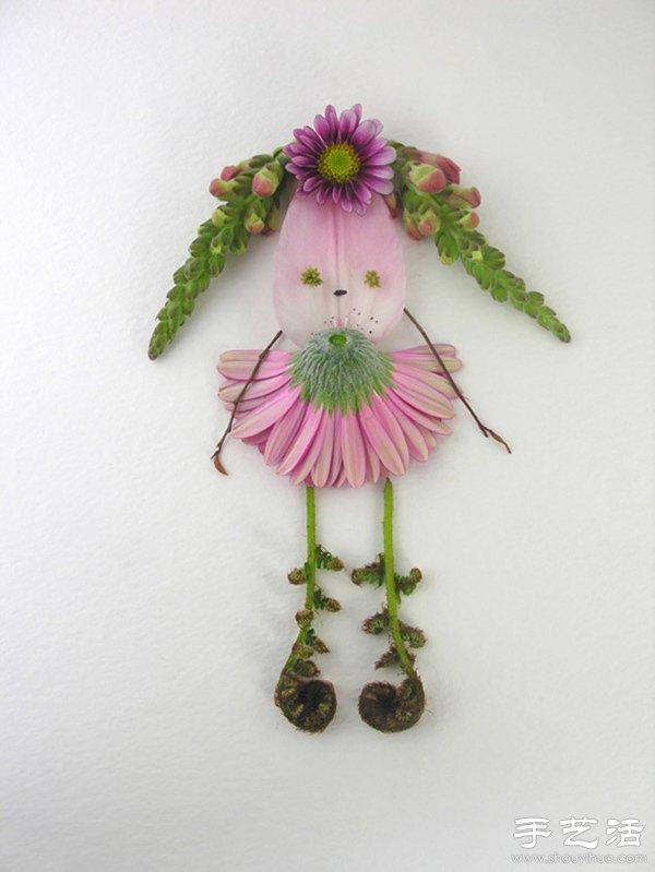 可以捡拾一些植物花卉回来diy可爱花仙子!