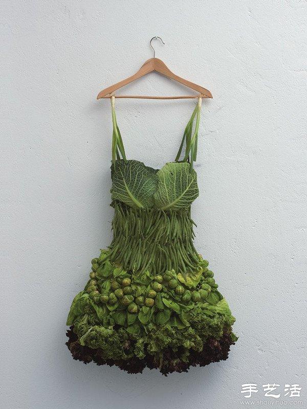 水果 蔬菜的创意幽默DIY