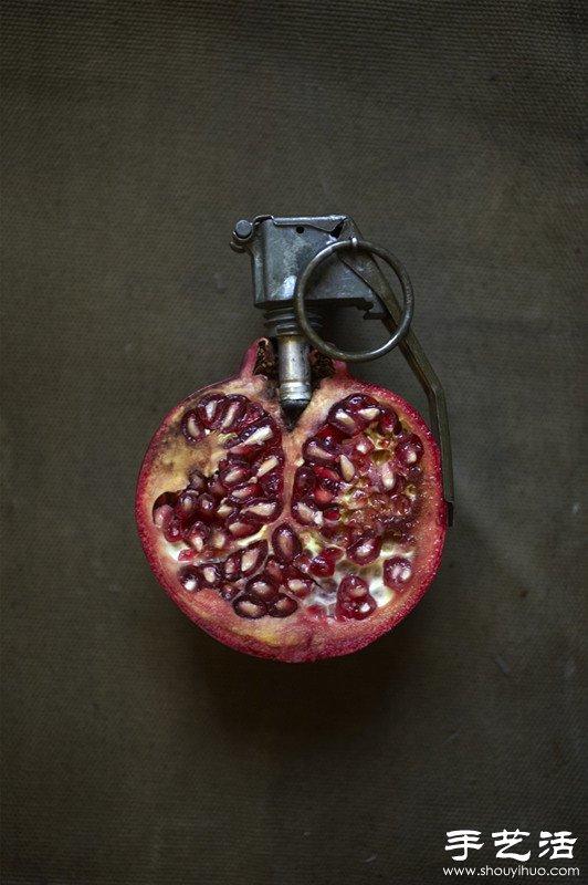 水果/蔬菜的創意幽默DIY